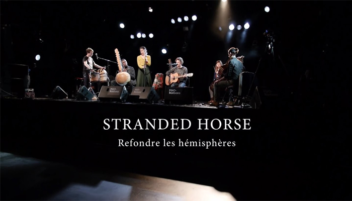 STRANDED HORSE SEXTET 'Refondre les hémisphères' (filmed by Sourdoreille at Centre FGO-Barbara, Paris, 2016)