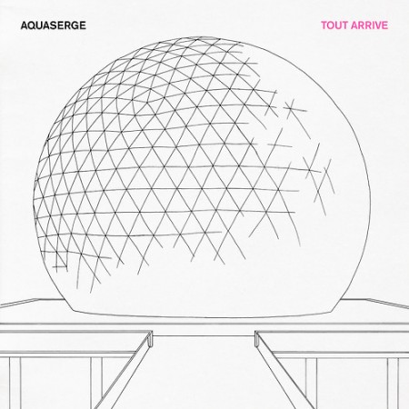 Aquaserge - 'Tout arrive' EP cover