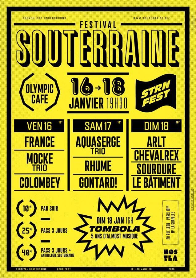 Festival Souterraine