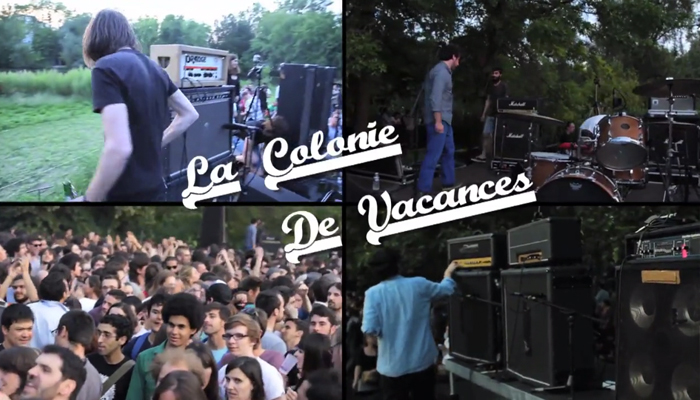 'La Colonie de Vacances' live aux Siestes Électroniques 2013 (Réal : Ciné 2000/Marjorie Calle/Christian Vialaret)