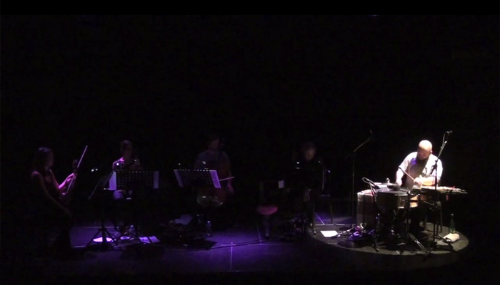 'From One To Nine' [drum solo, Le Temps Machine, oct. 2014]